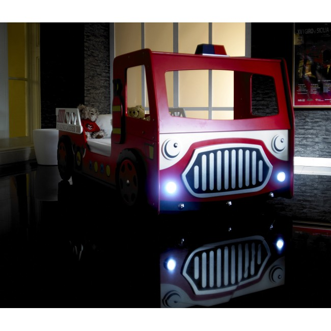 Liven Up A Bedroom With A Kid S Fire Engine Bed In Red Shop For