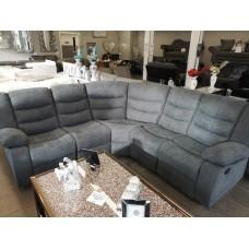 Roma Grey Fabric Corner