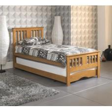Classic Oak Guest Bed