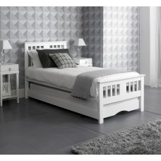 Classic White Guest Bed