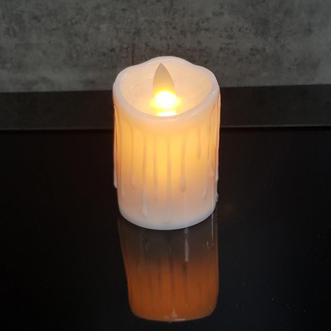 Crystal LED Candle Large