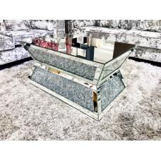 Diamond Crushed Coffee Table