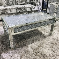 Diamond Mirrored Coffee Table
