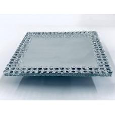 Crystal Cake Tray small