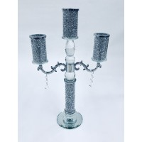 Crystal Crushed Candelabra 3