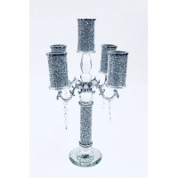 Crystal Crushed Candelabra 5