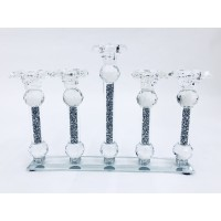 Crystal Crushed Candle Holder 5