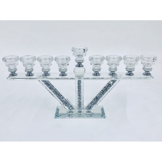 Crystal Crushed Candle Holder 9
