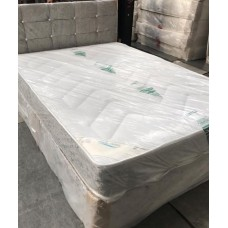 "Super King Divan 24"" Cubed Headboard with Diamonds"