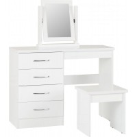 Reno 4 Drawer Dressing Table Set