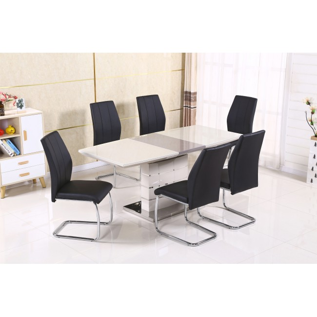 Milan Table + 6 Chairs