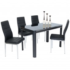 Morano Table + 6 Chairs