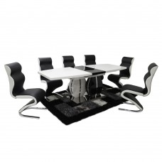 Paris Extending Table + 6 Chairs