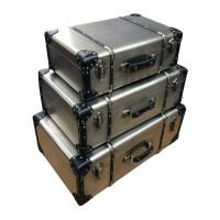 Steam Punk Triple Suitcases