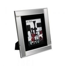 Black Mirrored Photo Frame Large