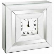 Square Mirrored Clock
